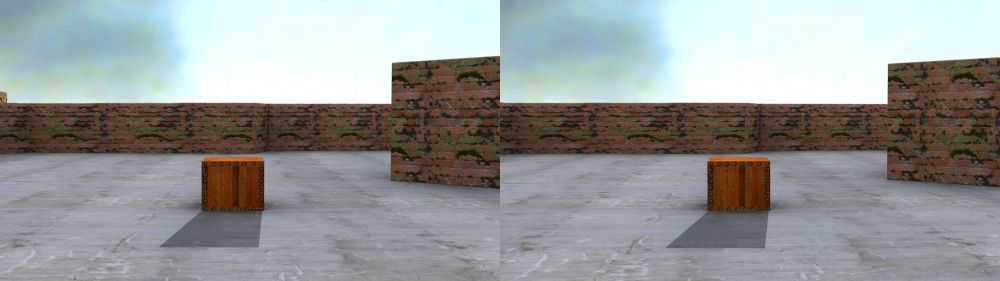 Properly rendered shadows in S-3D
