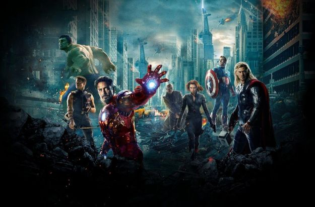 The Avengers in Sort of 3D