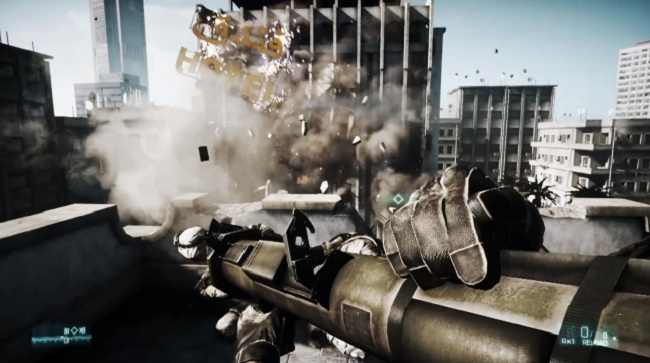 Battlefield 3 Gets Amped in 3D!