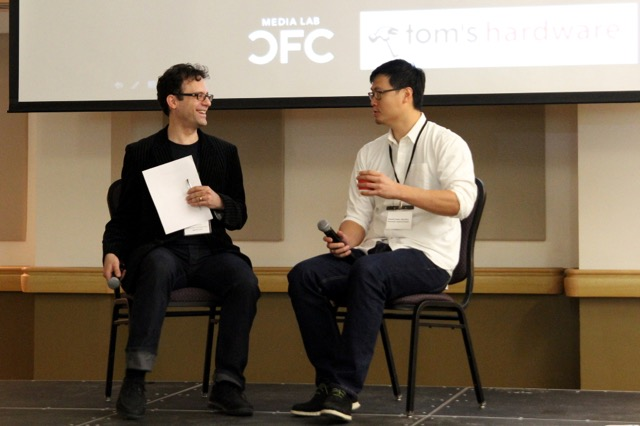Neil Schneider interviews Phil Chen, Founder of the HTC Vive, at Immersed 2015