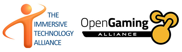 Immersive Technology Alliance and Open Gaming Alliance Logos