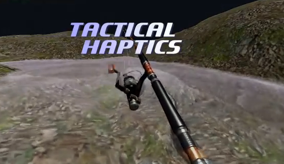 Gone Fish'n With Haptics!