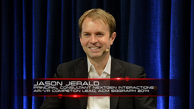 Jason Jerald, NextGen Interactions