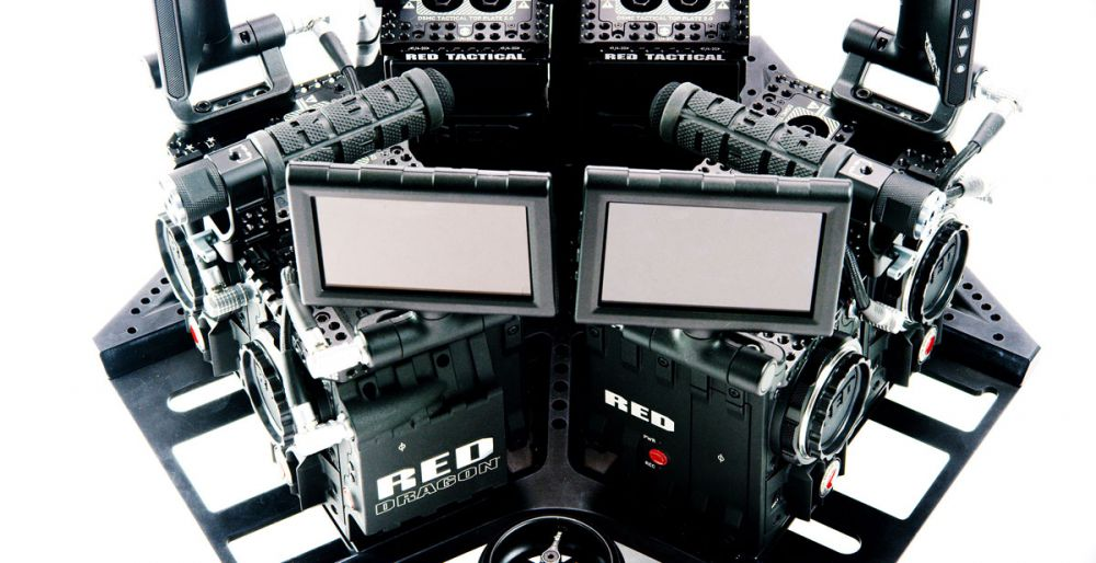 NextVR Virtual Reality Digital Cinema Camera System