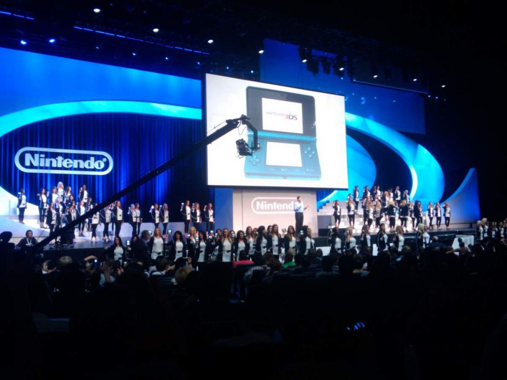 Nintendo 3DS Launch at E3