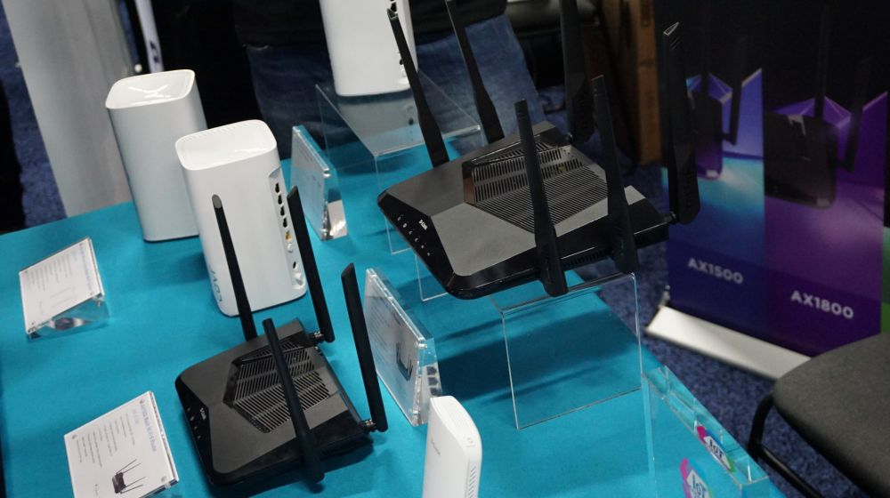 D-Link Wifi 6 Routers at CES 2020
