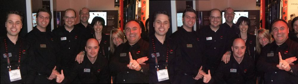 The Sensio Team at CES 2011