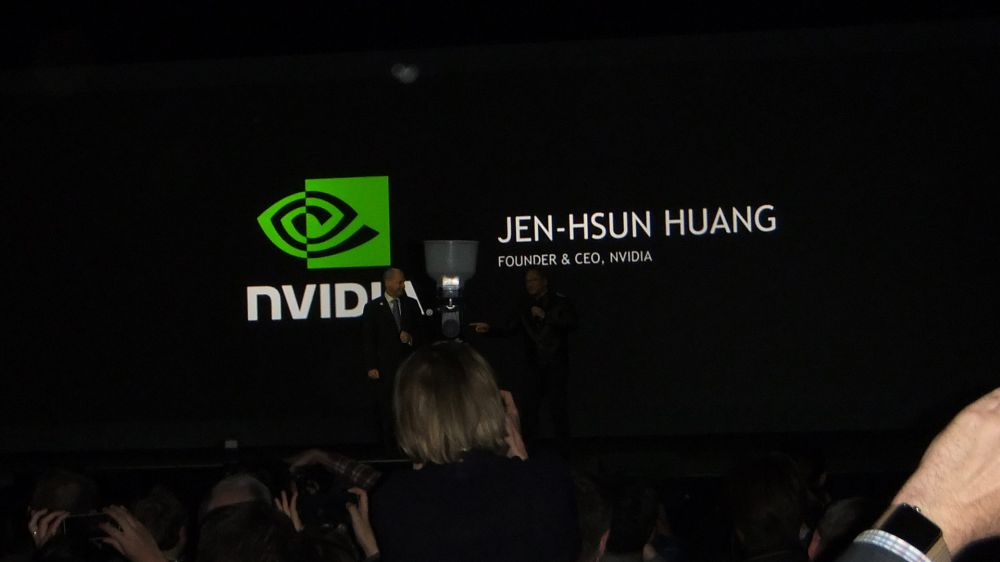 Nvidia Keynote at CES 2017