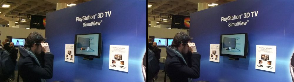 "Sony 24"" 3D PlayStation 3D Display"