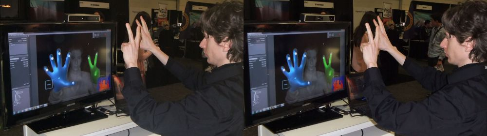 Soft Kinetic Demo at GDC 2012