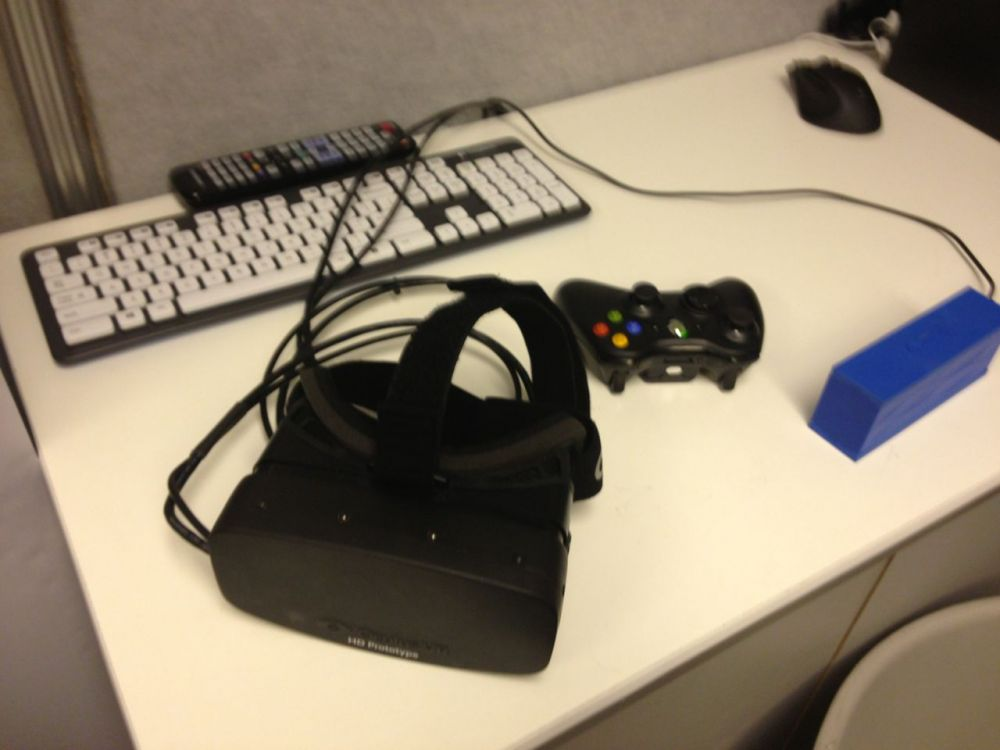 The HD Oculus Rift prototype at E3 2013