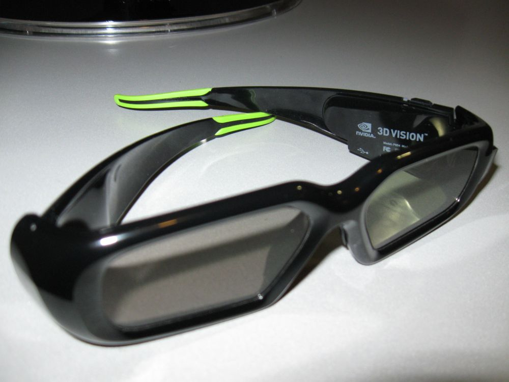 Nvidia GeForce 3D Vision Glasses