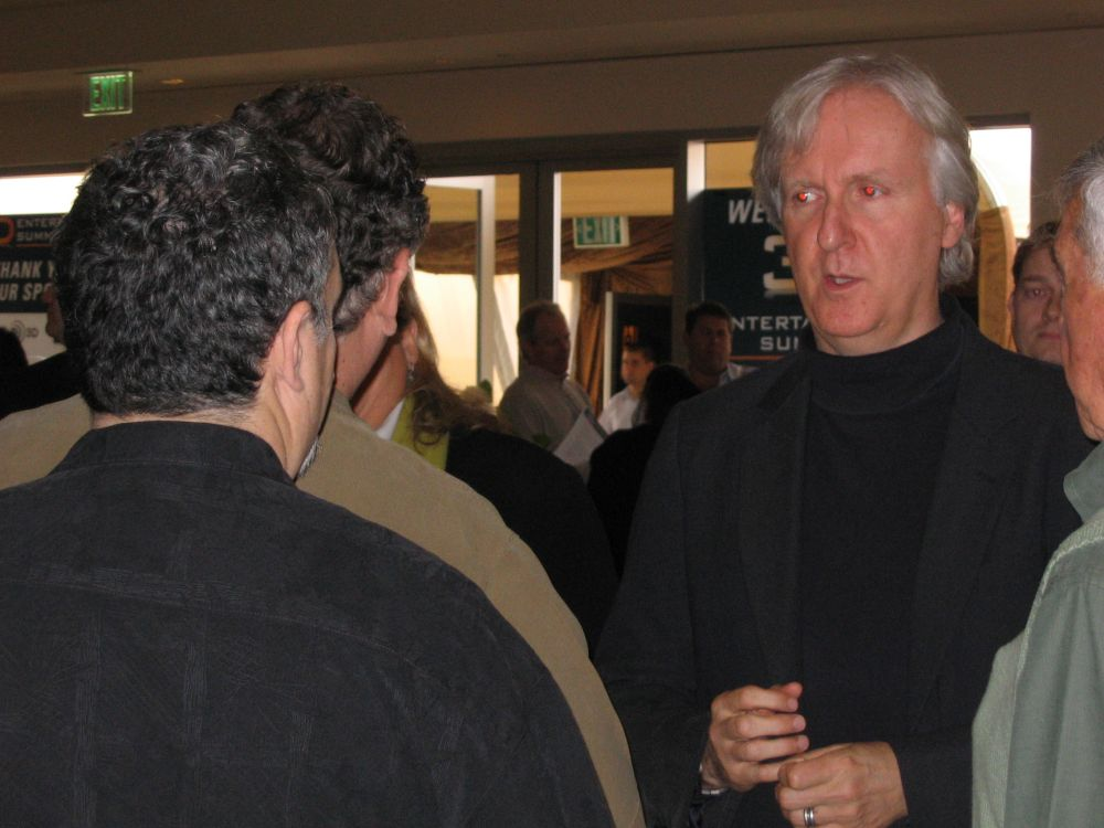 James Cameron at 3D Entertainment Summit