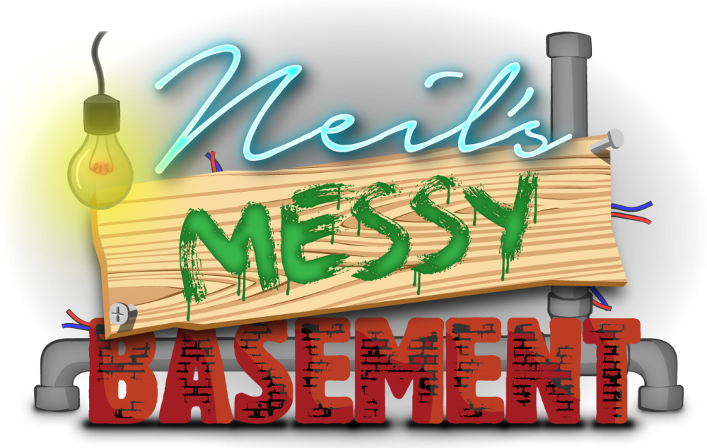 Neil's Messy Basement