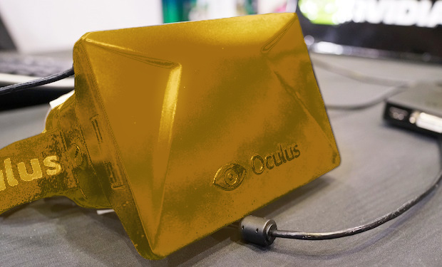 Oculus Rift Gold plated