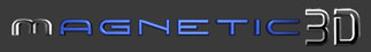 Magnetic 3D Logo