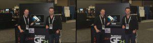Greg Castle (L), Brendan Iribe (R), Scaleform at GDC Online