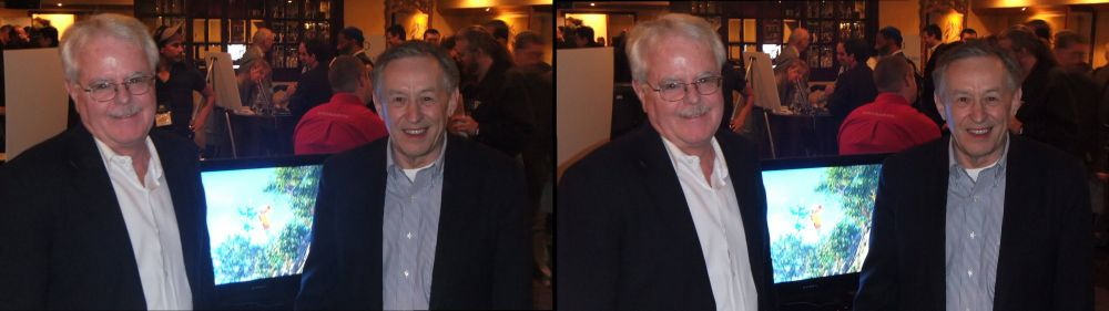 Entertainment Experience: Jim Sullivan (left), David Monks (right)