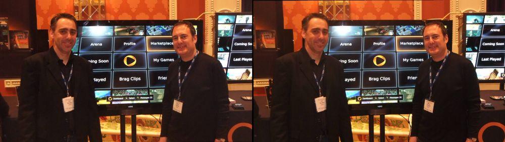 Onlive L-R: Joe Bentley (VP of Engineering), Steve Perlman (President & CEO)
