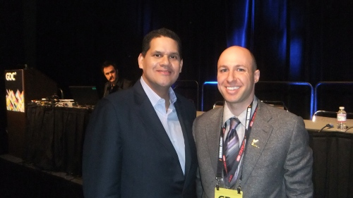 Reggie Fils-Aime (Nintendo USA COO) & Ethan Schur (TDVision)