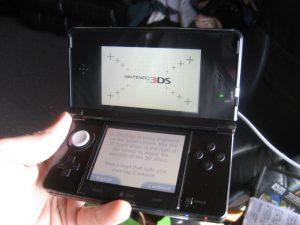Kris Roberts' Gets His Nintendo 3DS