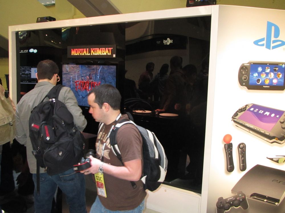 Sony PS3 GDC 2011 Exhibit