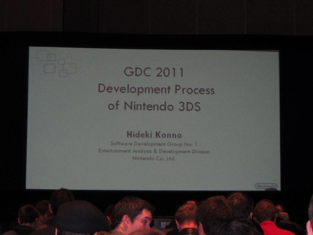 Hideki Konno, Nintendo 3DS Development Course
