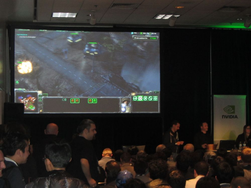Starcraft II at GDC 2011