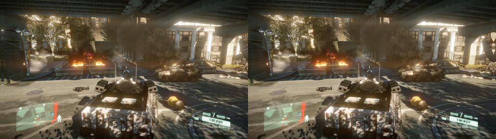 Crysis 2 on PC in 3D