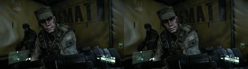 Crysis 2 on PC (2D+Depth)