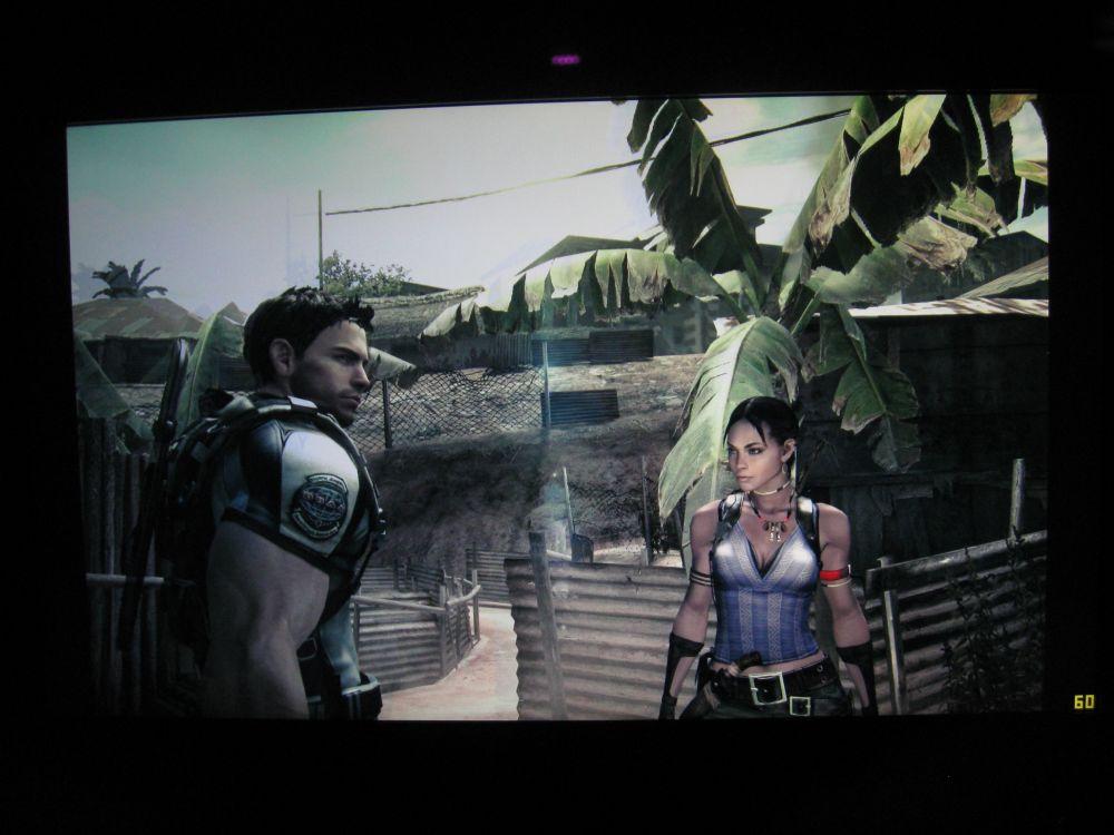 Resident Evil 5 on Acer 27