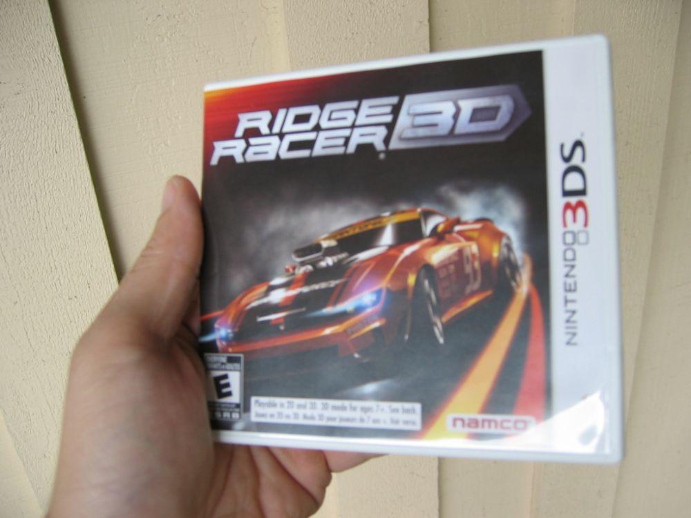 Ridge Racer 3D on Nintendo 3DS