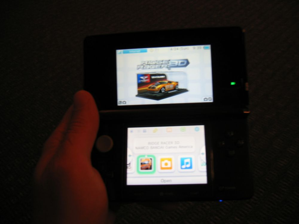 Ridge Racer 3D on Nintendo 3DS