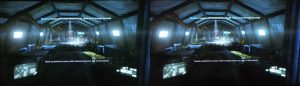 Crysis 2 on PS3 in 3D (2D+depth)