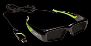 Nvidia 3D Vision Wired 3D Glasses