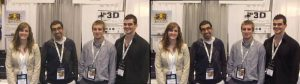 L-R Veronica Cole, Mina Tawadrous, Chris Zerebecki, and Brodie Stanfield at Discovery 2011