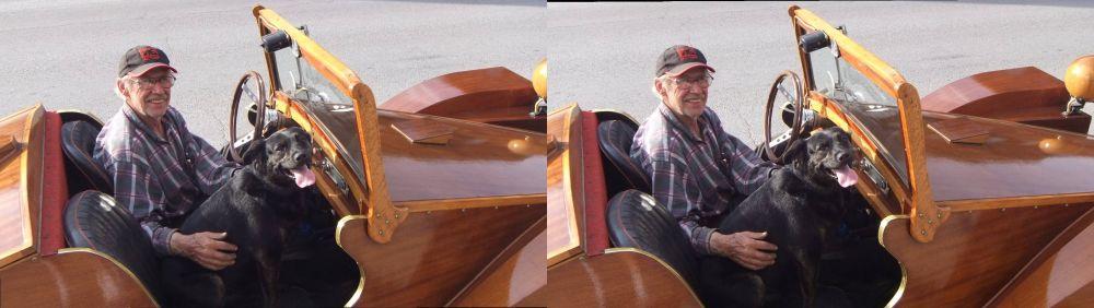 John Bruce's & Terra's Mahogany Car!