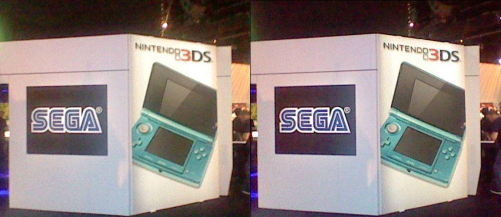 Sega E3 Exhibit