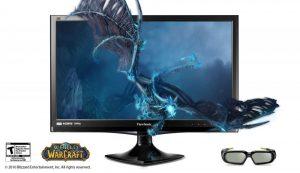 Viewsonic V3D245 3D Monitor