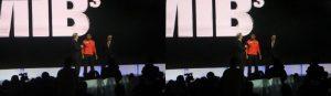 Will Smith talks Men in Black 3 at Sony press event.