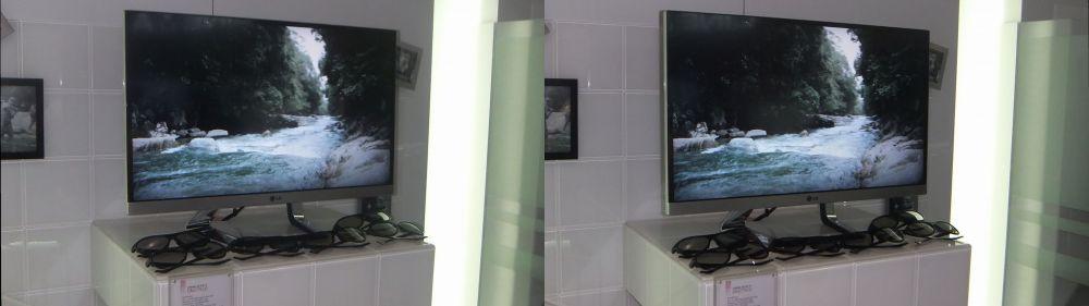LG 27 Inch 3D Display