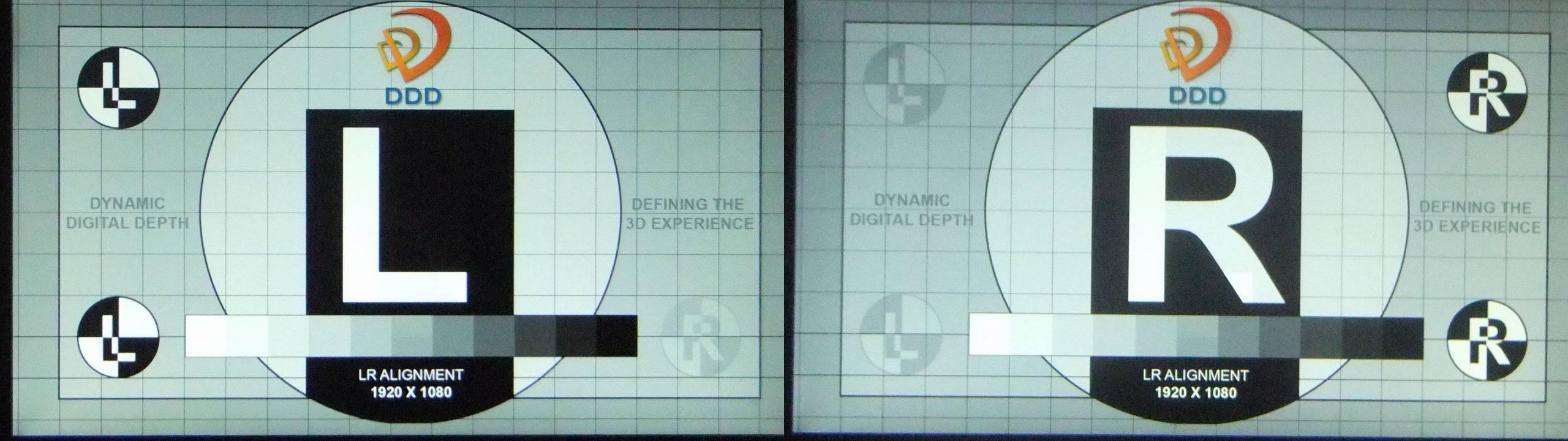 Samsung S23A750D DDD Ghosting Test
