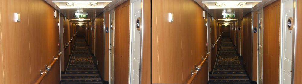 Disney Fantasy Cabin Hallway