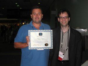 Mark Rein & Neil Schneider at SIGGRAPH 2008