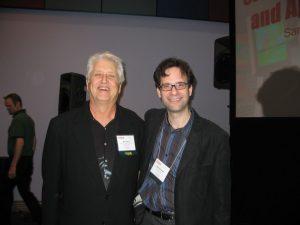 Ray Zone (left) and Neil Schneider