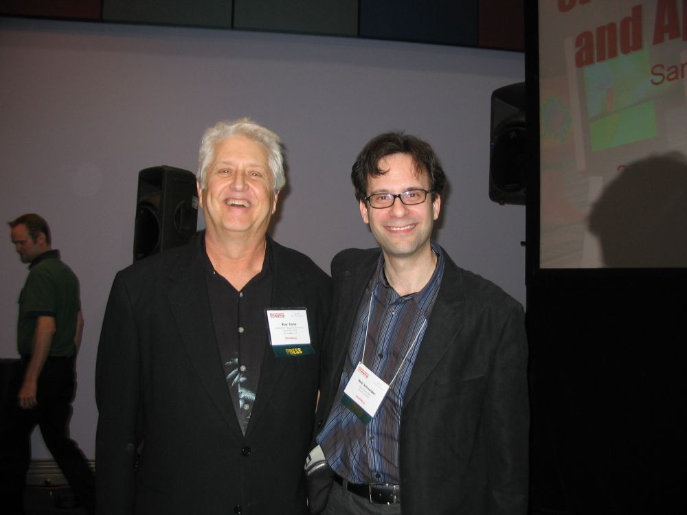 Ray Zone (left) and Neil Schneider