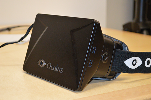 Oculus Rift SDK Sample