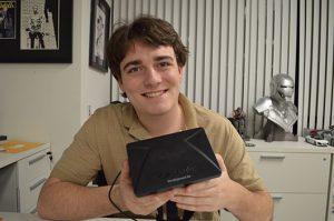 Palmer Luckey and His Oculus Rift Newborn.