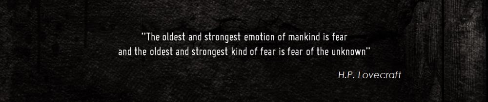 H.P. Lovecraft Quote