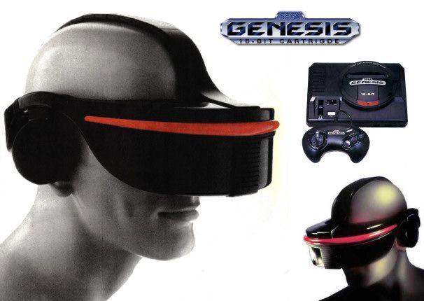Sega VR HMD